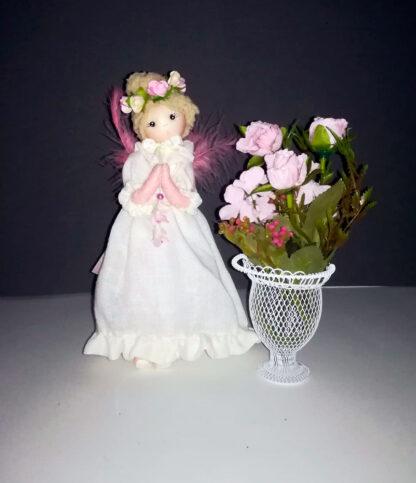 Ángel de las flores