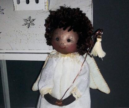 ángel con borla