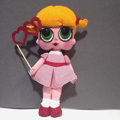 Muñeca tipo LoL CARNAVAL