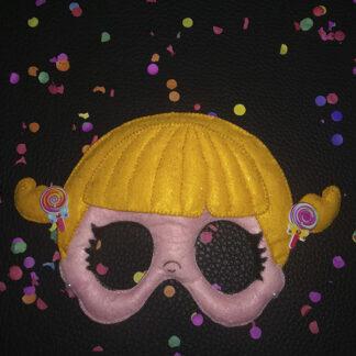 """Máscara carnaval """"Coletas con piruletas"""""""