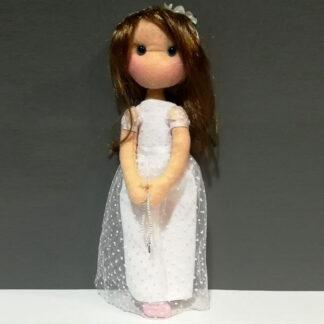 Muñeca infantil comunión