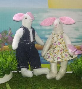 Mamá y Papá conejo