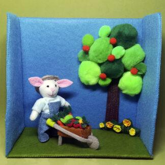 Roco Rabbit cosechando