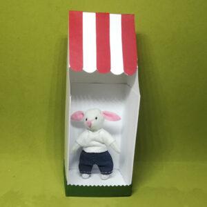Dany Bunny muñeco de fieltro